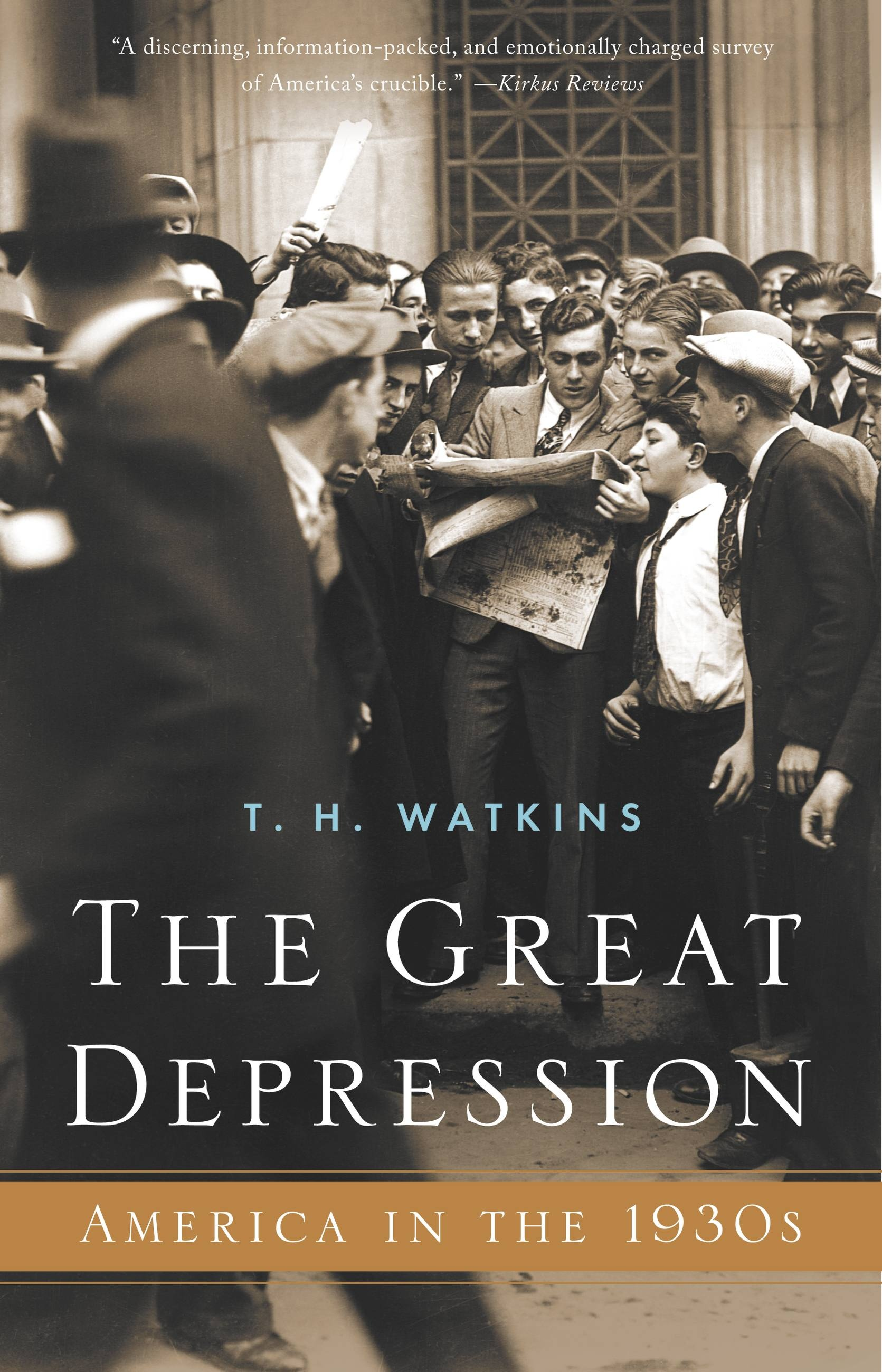 book review the great depression Kirkus review a once-over-lightly canvass that represents a far-from-rigorous inquiry into the deeply troubled decade which ended with the onset of ww ii in 10 loosely linked essays, garraty surveys the socioeconomic upheaval that followed in the wake of wall street's 1929 crash.