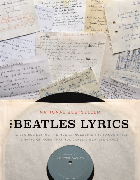 The Beatles Lyrics By Hunter Davies Little Brown And Company