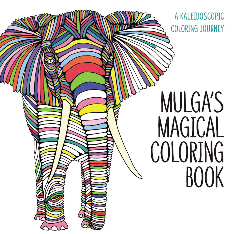 Mulgas Magical Coloring Book