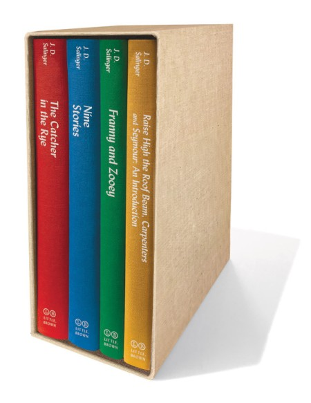 J. D. Salinger Boxed Set by J.D. Salinger   Little, Brown ...